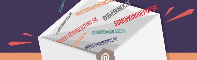 Zriaďte si vlastnú e-mailovú adresu